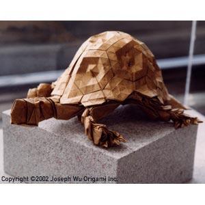 Tortuga de origami de Eric Joisel