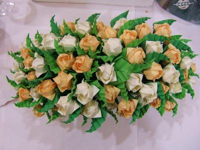 El centro de flores